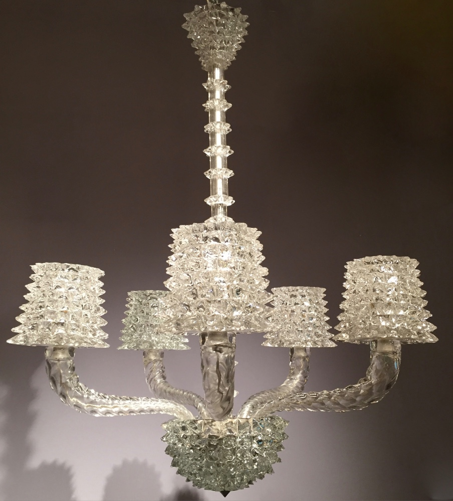 Barovier e Toso Chandelier - Lighting - Stock - Thomas Bonzom