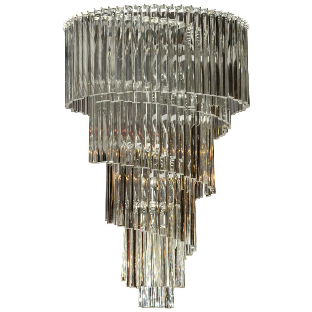 Early venini glass spiral chandelier lighting stock thomas early venini glass spiral chandelier aloadofball Choice Image