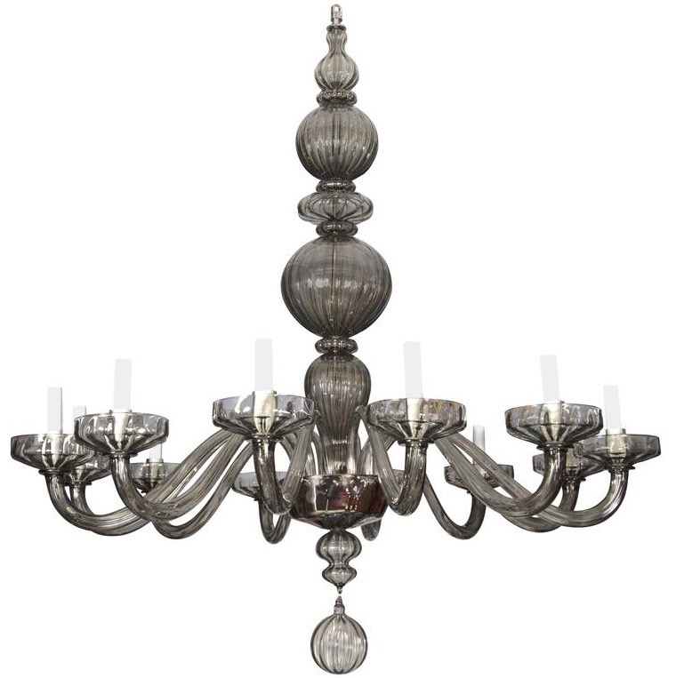 Murano Chandelier Nz: Impressive Murano Glass Chandelier